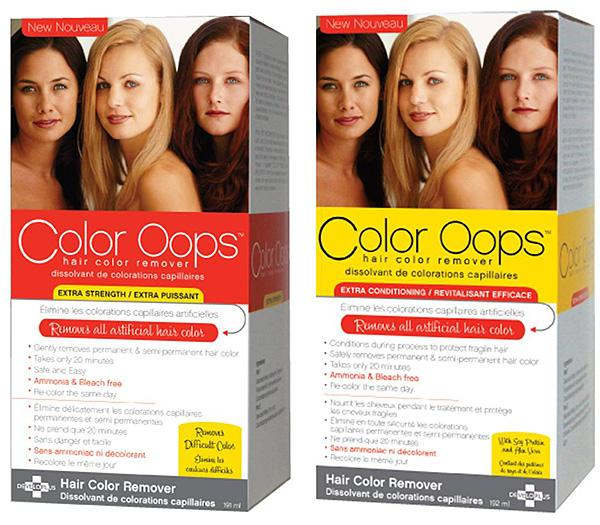 Color Oops Dye your Hair Blonde