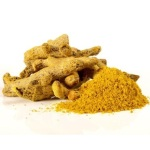 Turmeric, Milk and Fluor reduces dark circles